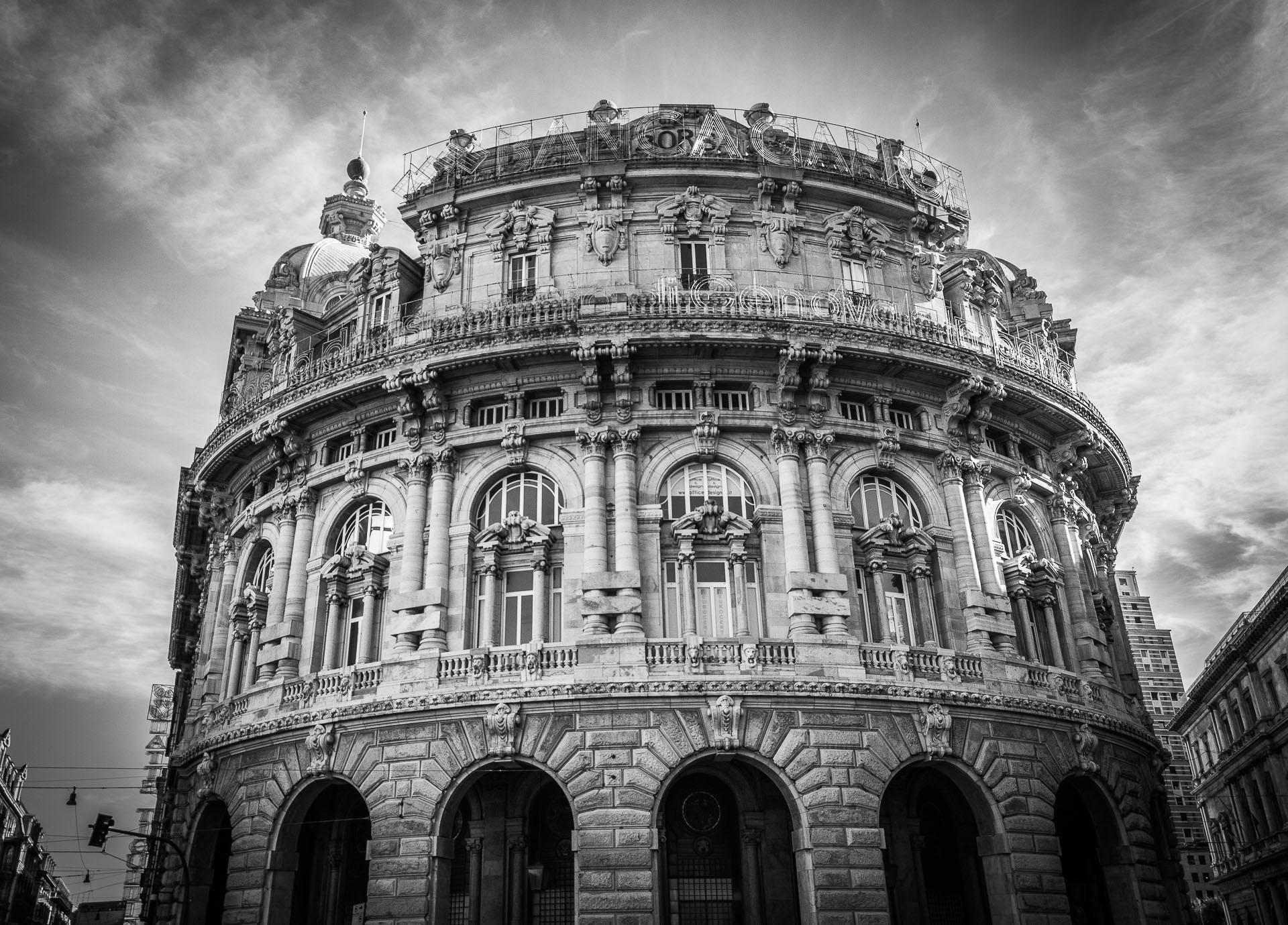 Palazzo della Borsa Valori di Genova - Architettura e Monumenti - SoreX Photo by Stefano Soresina